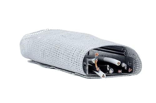 Стабитерм 300, огнезащита кабеля,  огнезащитная сетка